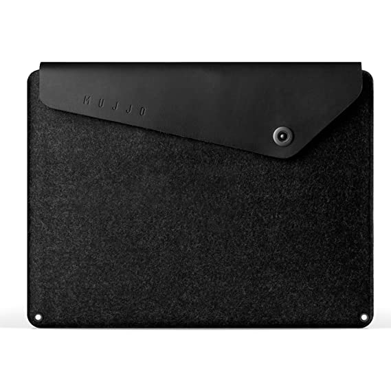 promo code fb083 17347 Mujjo Leather Sleeve compatible with 13