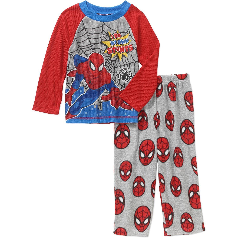 殿堂 Marvel Spiderman 2T Little Marvel Boys B06XCY2DCQ '幼児用長袖トップフリースパンツパジャマ2ピースセット 2T B06XCY2DCQ, PortaRossa:0b39abc0 --- a0267596.xsph.ru