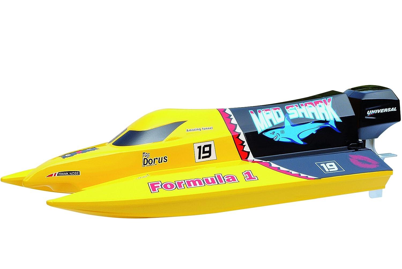 Amewi 26034 Mad Shark Brushed Barchetta 2.4 GHz RTR