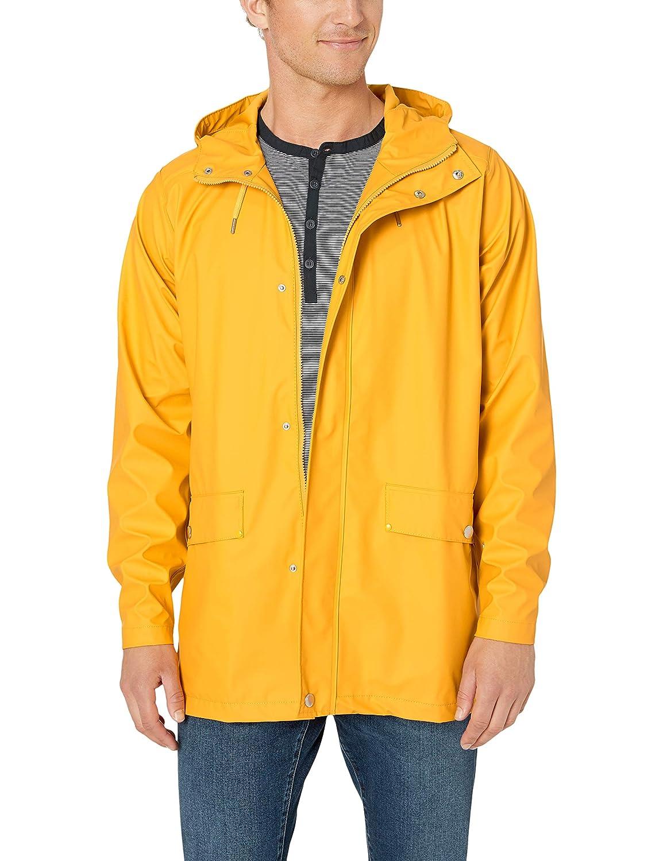 82043c917e5 Amazon.com: Helly Hansen Moss Waterproof Pu Long Rain Coat with Hood:  Clothing