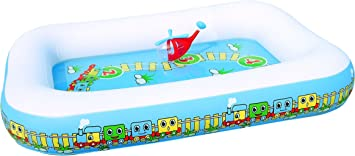 Bestway 8321478 Piscina Infantil Tren 201x150x30 cm.: Amazon.es ...