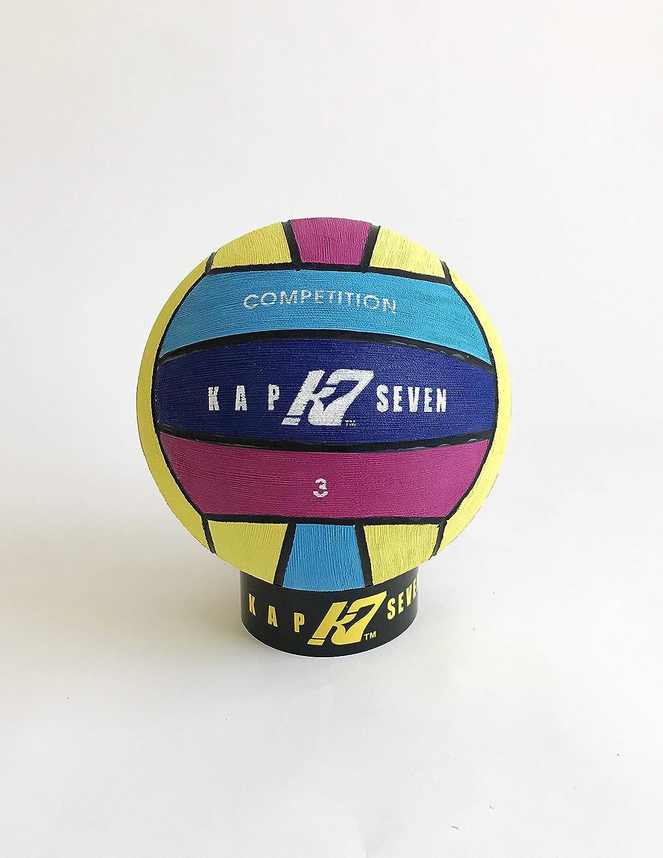 Desconocido KAP7 Comp - Balón Polo de Agua (tamaño 3, 4 Colores ...