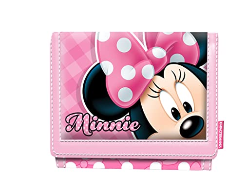 Karactermania Minnie Mouse Joyful Monedero, 13 cm, Rosa ...