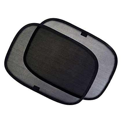 Leegoal 2 Pack Car Side Window Sunshades Self-Adhering 98/% UV Rays Blocker Sun Screen Fits Most Cars SUVs for Baby//Family//Pets Car Sun Shades