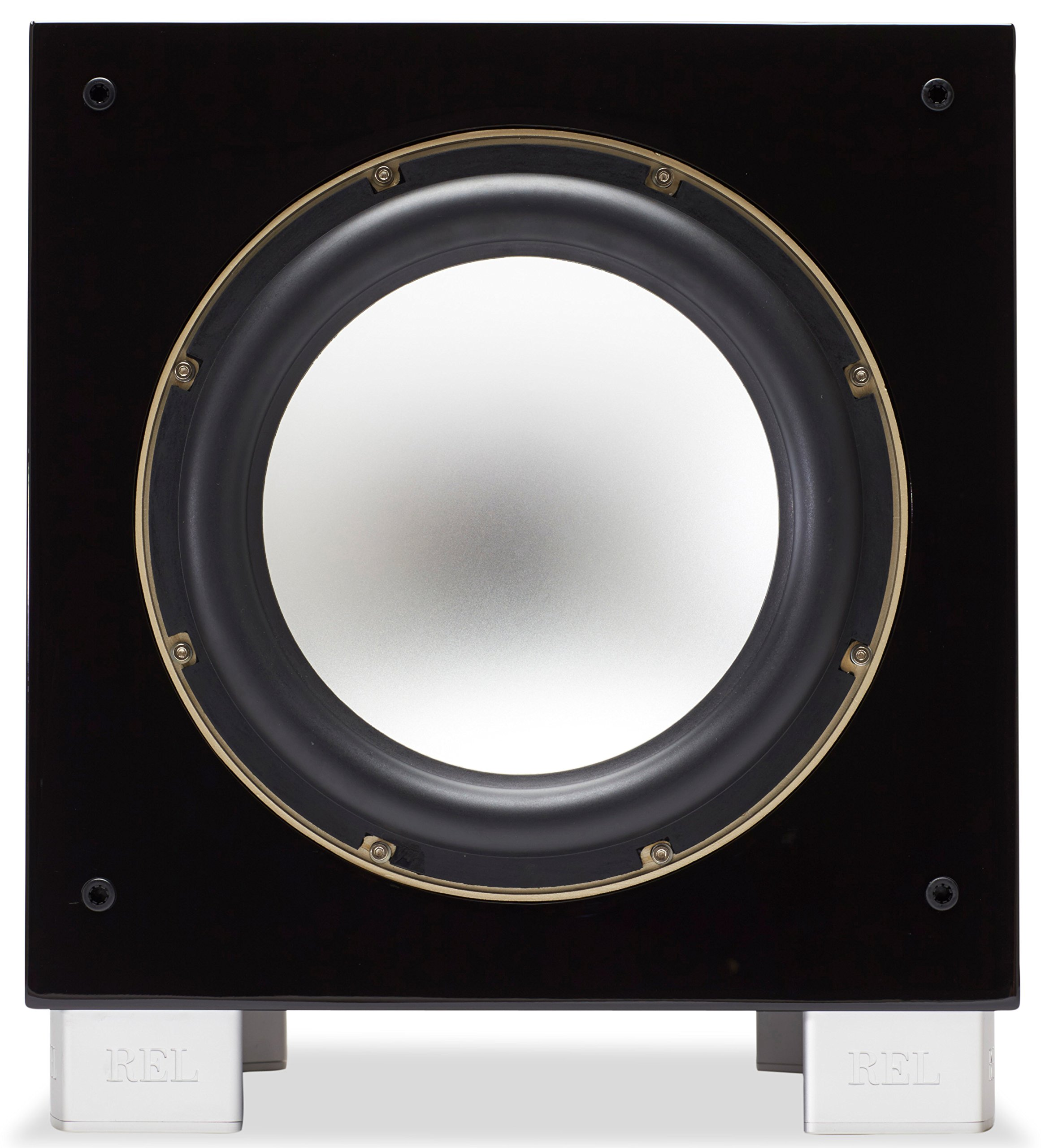 REL Acoustics S/5 SHO Subwoofer (Super High Output), Longbow Wireless compatible, Black Lacquer