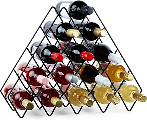 VonShef-Wine-Rack-5-Tier-Stackable-Wine-Holder-Stand-Bottle-Organizer-15-Bottle-Freestanding-Storage-Rack-for-Kitchen