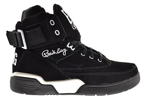 Patrick Ewing - Zapatillas de Material Sintético para Hombre Black White  33  Amazon.es  Zapatos y complementos f4bc6eb0f7339