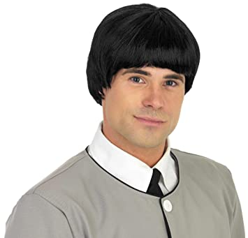 Mens Beatles 1960s Mersey Beat Wig (peluca)