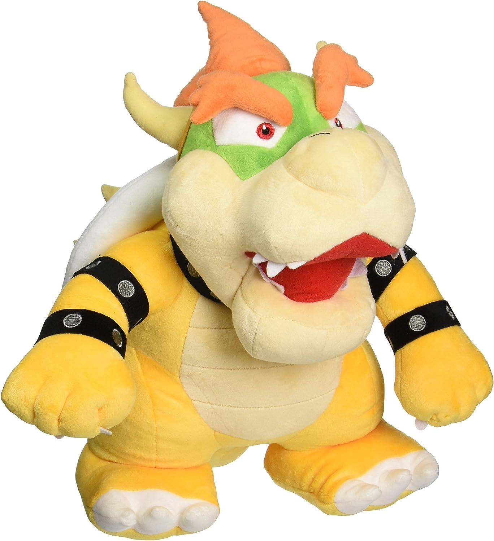 Nintendo Oficial Super Mario Bowser Peluche, 13