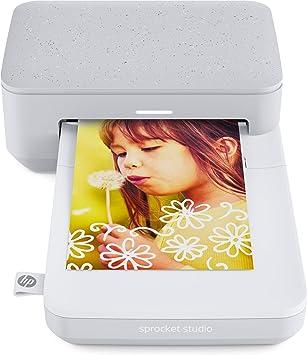 HP Sprocket Studio - Impresora (300 PPP, Bluetooth 5.0, tecnología ...