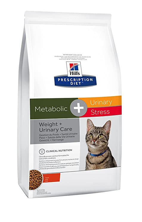 Hill`s Alimento Dietético para Gato Metabolic Plus Urinary Stress - 4 kg