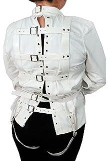 Amazon.com: Asylum Patient Straight Jacket L/XL, White: Health ...