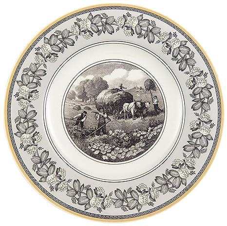 Villeroy u0026 Boch Audun Ferme Dinner Plate  sc 1 st  Amazon.com & Amazon.com | Villeroy u0026 Boch Audun Ferme Dinner Plate: Dinnerware ...