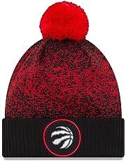 deb56104703 New Era Toronto Raptors NBA On Court Pom Knit Hat