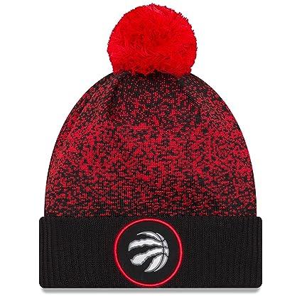 Amazon.com   New Era Toronto Raptors 2017 On Court Knit Pom Winter ... ae1f8269f89