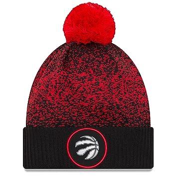 New Era NBA Toronto Raptors On-Court 2017 Pom Knit  Amazon.co.uk ... cefa37aeaee5