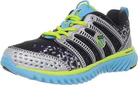 K-Swiss - Zapatillas de running para mujer Multicolor Black/blue/yellow: Amazon.es: Zapatos y complementos
