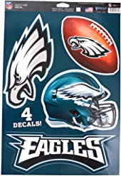 247c04ed7 WinCraft Official National Football League Fan Shop Licensed NFL Shop  Multi-use Decals (Philadelphia