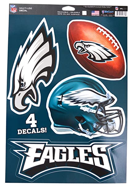 33534d9eb Image Unavailable. Image not available for. Color  WinCraft Official  National Football League Fan Shop Licensed NFL Shop Multi-use Decals ( Philadelphia