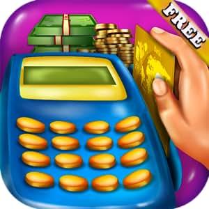 Pet Supermarket Discount Code >> Amazon.com: Supermarket Cashier Kids : handle money, use cash register and POS in this ...