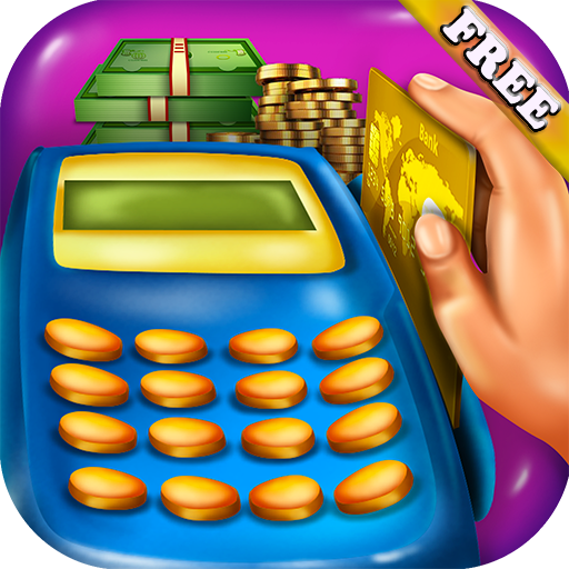 Supermarket Cashier Kids : handle money, use cash register and POS in this Supermarket Cashier Shopping game ! - In Malls Co