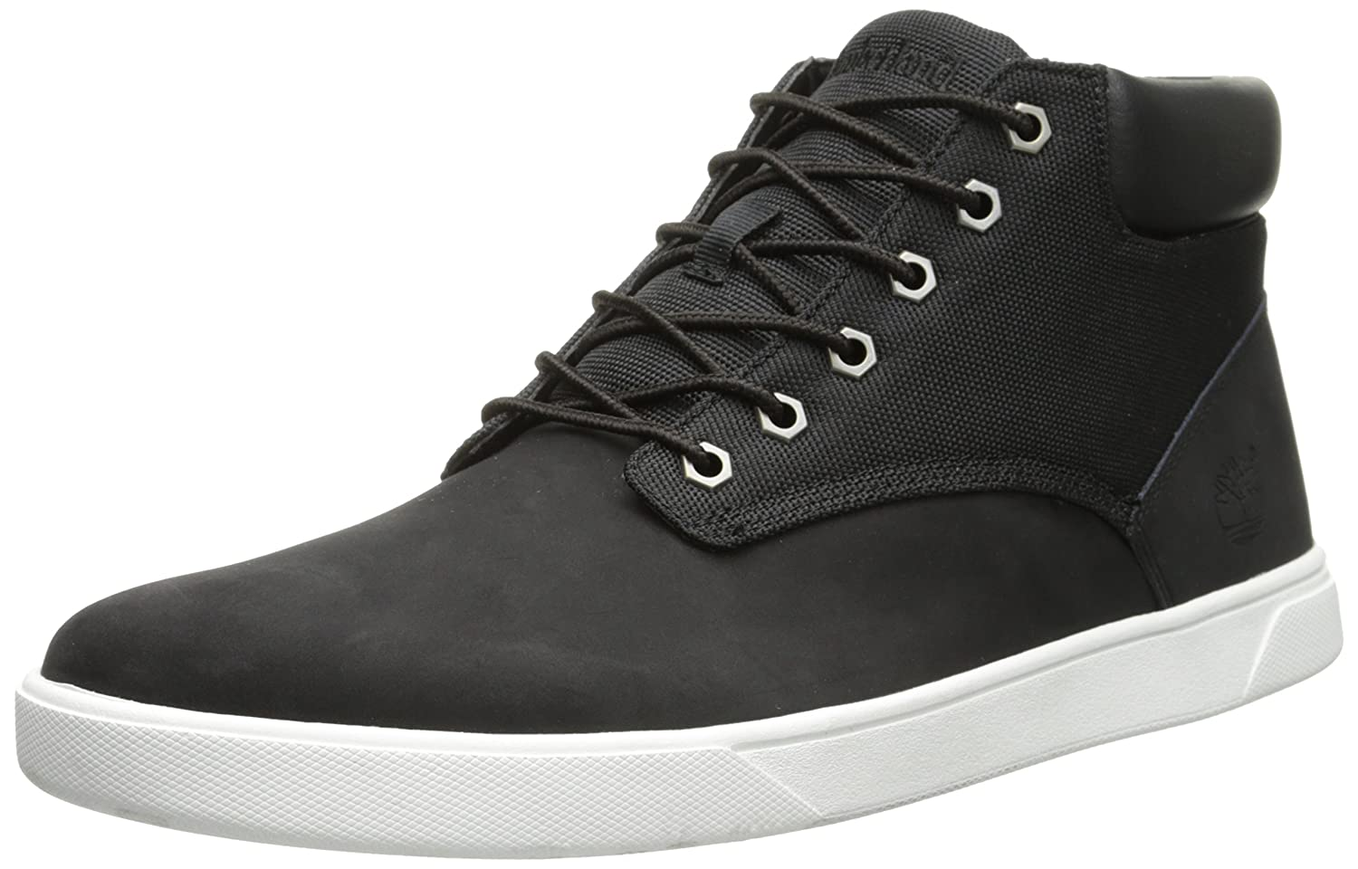 Timberland Men's Groveton Plain Toe Chukka , BlackCanvas, 8.5 M US