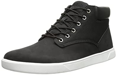 Timberland Men's Groveton Plain Toe Chukka , BlackCanvas, 9 M US