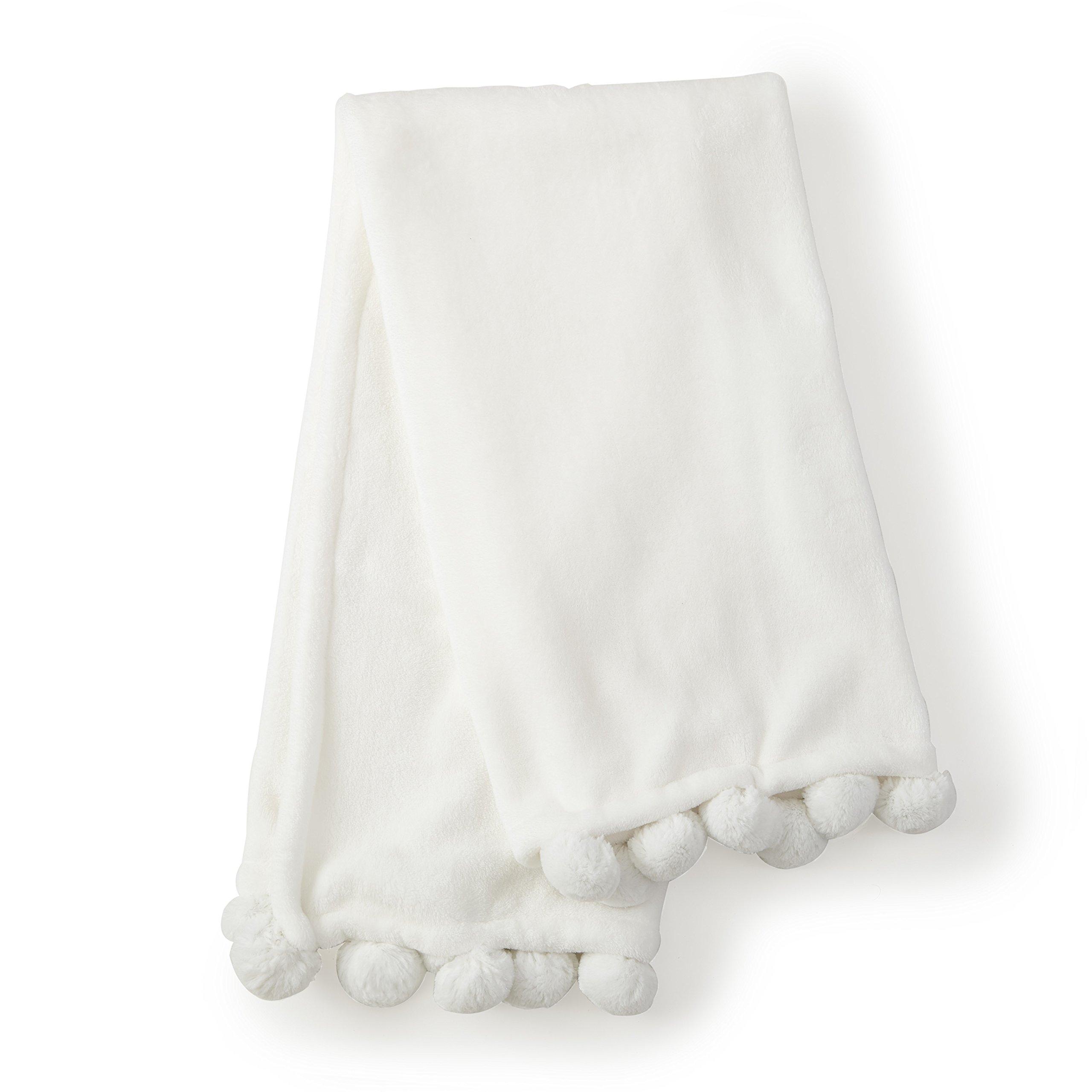 Levtex Home Levtex Baby Emma Cream Blanket, Cream