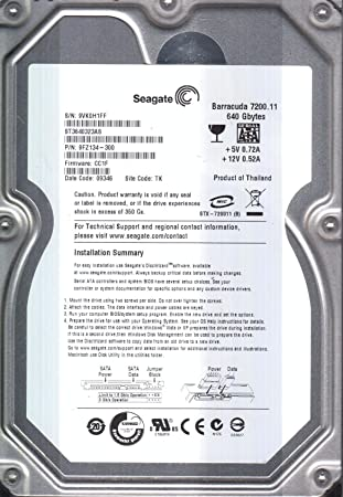 SEAGATE ST3640323AS SATA DRIVE DRIVERS FOR WINDOWS