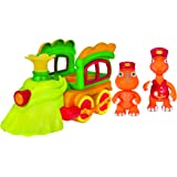 Dino Train Deluxe Train Engine with Buddy & Mr. Conductor Vehicle