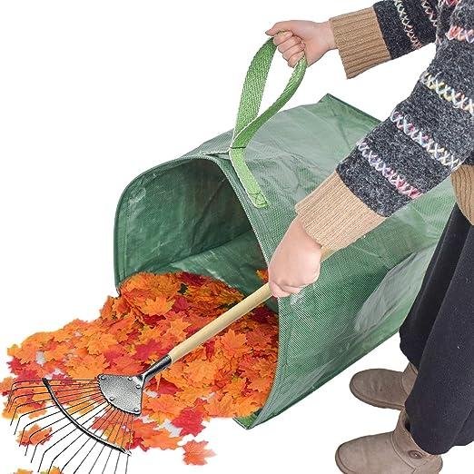 GJXY Bolsas de Basura de jardín, Bolsas de jardinería Resistentes ...