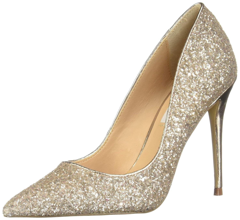 284d861e7f4 Steve Madden Womens Daisie Metallic Stiletto Heels Pink 6 Medium (B,M)