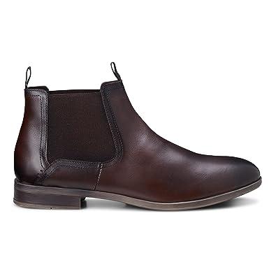 Cox Herren Chelsea Boots aus Leder, lässige Stiefel in Braun mit  Rutschfester Sohle  Cox  Amazon.de  Schuhe   Handtaschen 5d8fd104e7