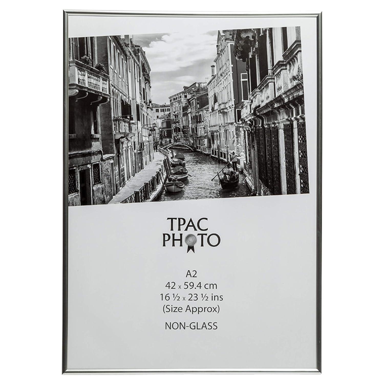 l/'album photo soci/ét/é a2marsil a2 42 x 59 cm non verre certificat photo affiche photo affichage cadre-argent