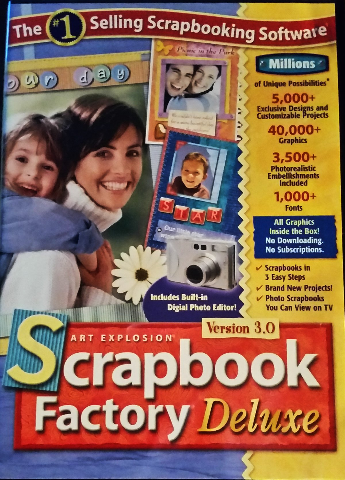 Art Explosion Scrapbook Factory Deluxe Version 3.0 - PC by Art Explosion