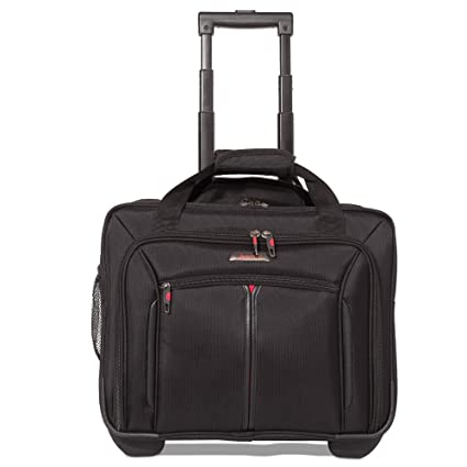 """025d50d337288 Aerolite 17"""" Executive Cabin Luggage Business Bag Laptop Bag with Wheels –  Approved for Ryanair"""