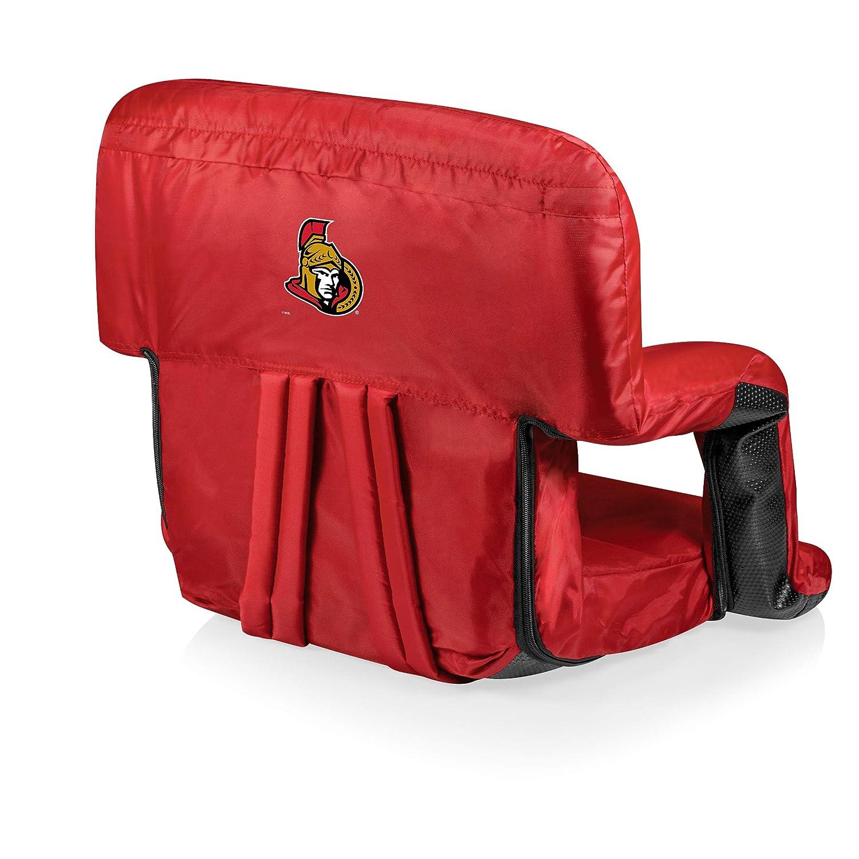 PICNIC TIME NHL Ottawa Senators Portable Ventura Reclining Stadium Seat