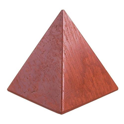 NOVICA 74151 Dreams Jasper Pyramid Sculpture, Medium