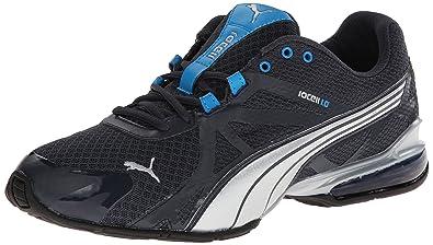 PUMA Men's Voltaic 5 Cross-Training Shoe,New Navy/Puma Silver/Methyl
