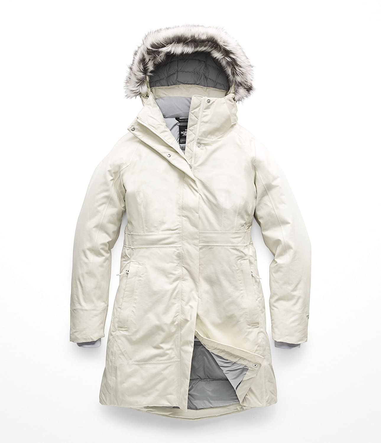 Vintage White The North Face Women's Arctic Parka II