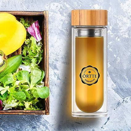Örtte Tea Bottle - Botella Para Hacer Té De 400ml - Mantiene Tu Té Favorito Caliente