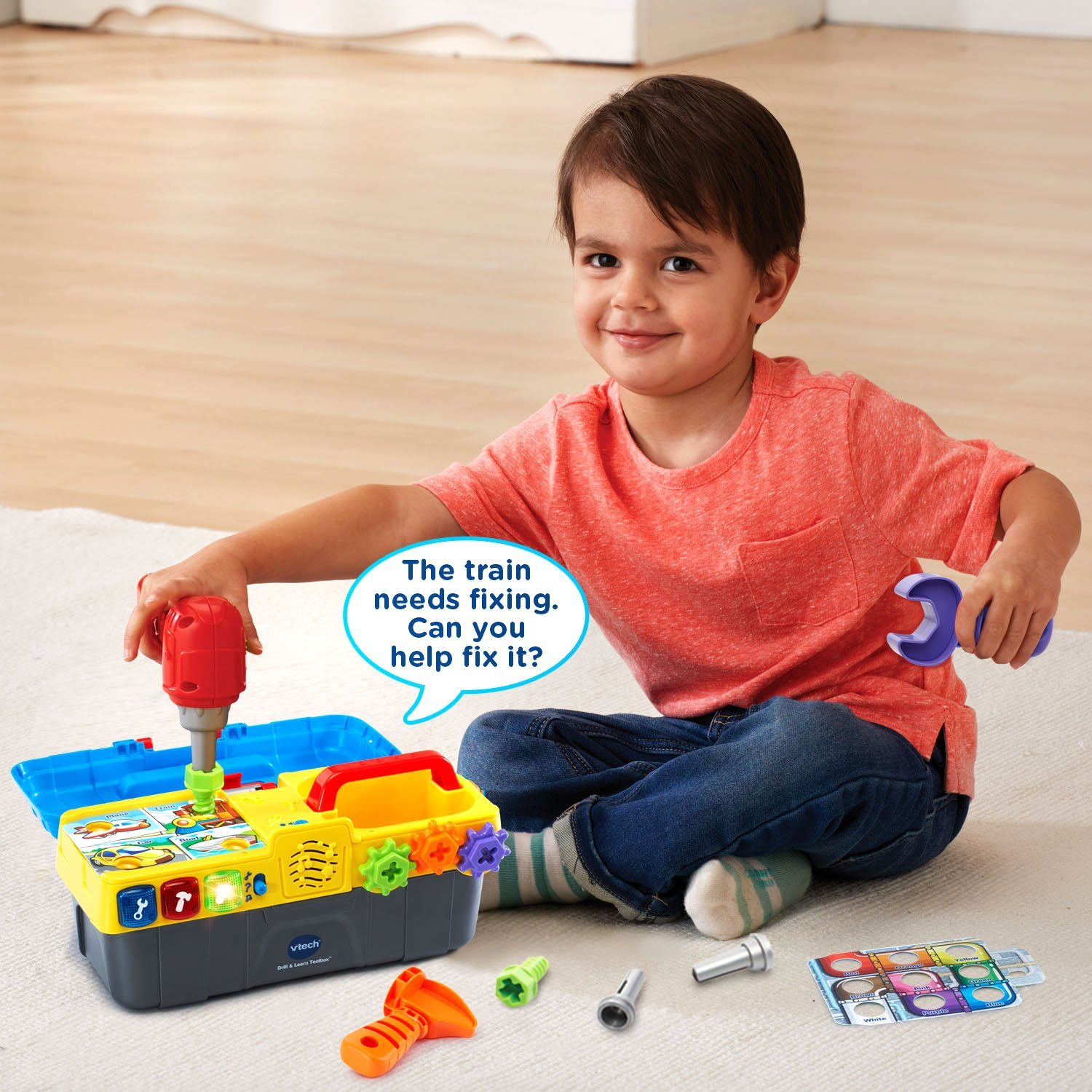 VTech Drill & Learn Toolbox by VTech (Image #6)