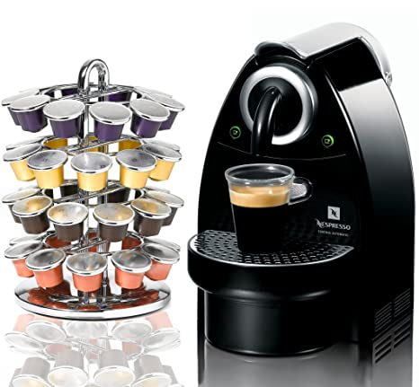 Amazon.com: C101 Nespresso Essenza Flowstop Piano Negro ...