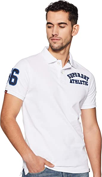 Superdry Classic Superstate Pique Polo Hombre: Amazon.es: Ropa ...