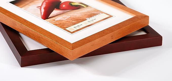 gro/ß mit Loch 100 mm Oakra 10 x Holzherz-Formen 10 cm einfarbig