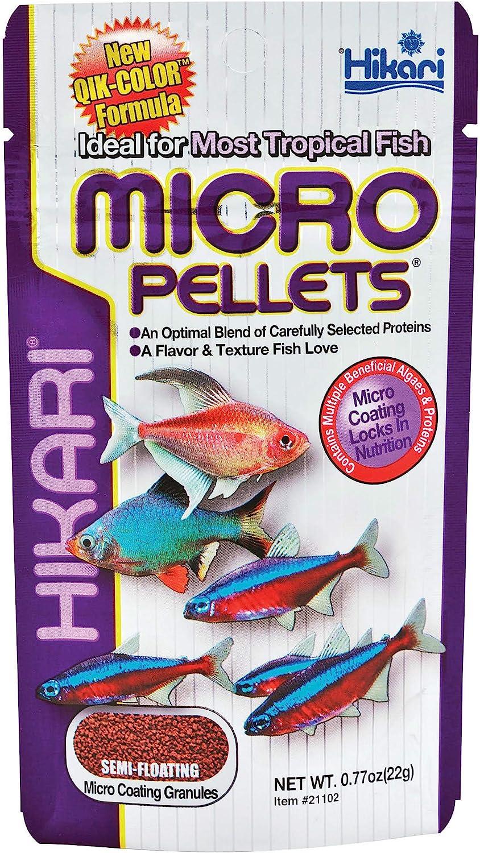 Hikari Tropical Semi-Floating Micro Pellets for Pets, 0.77-Ounce