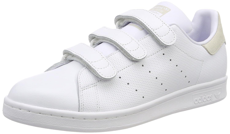 Adidas Stan Smith CF, Zapatillas de Deporte para Hombre 45 1/3 EU|Blanco (Footwear White/Footwear White/Talc 0)