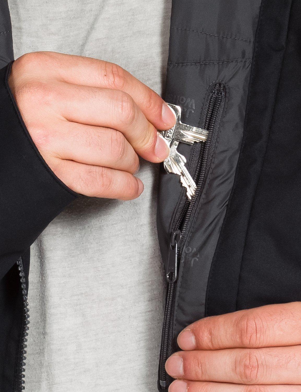 Jack Wolfskin Men's Chilly Morning Jacket, XX-Large, Black by Jack Wolfskin (Image #3)