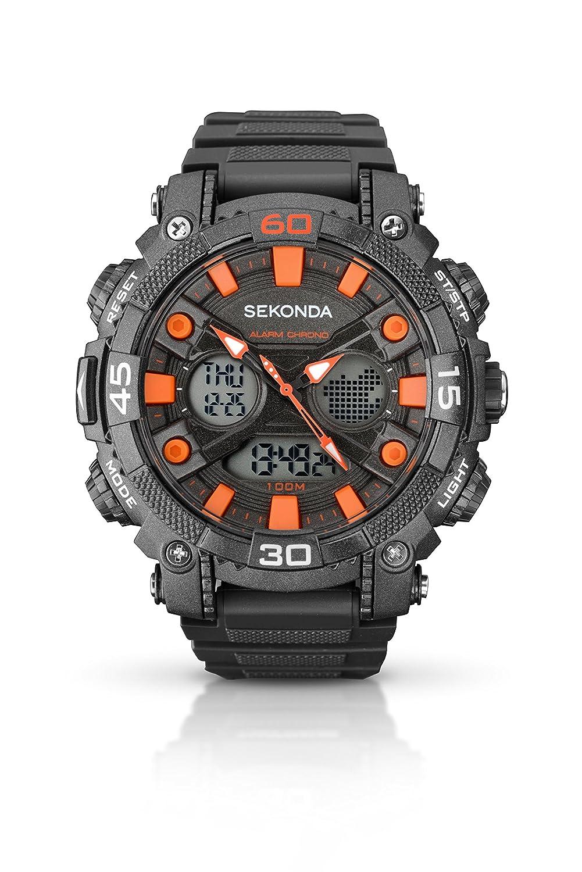 SEKONDA 1037.05 - Reloj de Cuarzo para Hombres, Color Gris