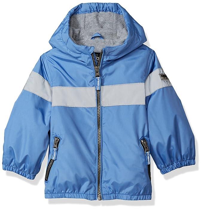 610a84cdf OshKosh B'Gosh - Chamarra de Forro Polar para bebé, Azul, 12 Meses ...